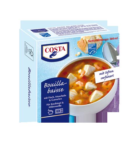 Eine Produktabbildung Bouillabaisse von COSTA Meeresspezialitäten