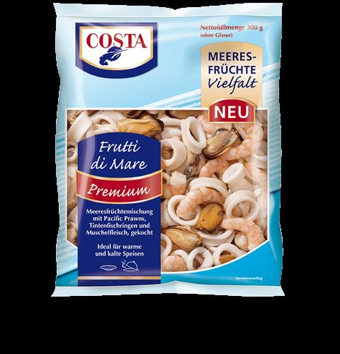 Eine Produktabbildung Frutti di Mare Premium von COSTA Meeresspezialitäten