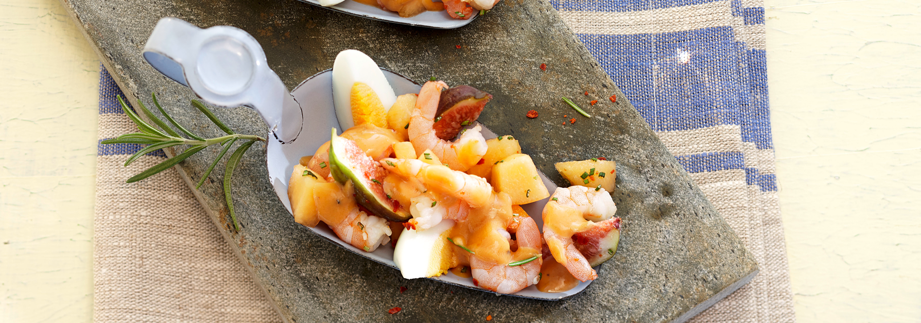 Rezeptfoto Fruchtiger Garnelen Cocktail von COSTA Meeresspezialitäten