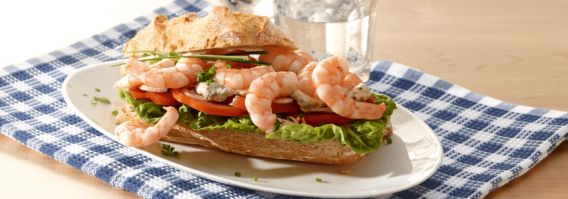 Rezeptfoto Sandwich Pacific von COSTA Meeresspezialitäten