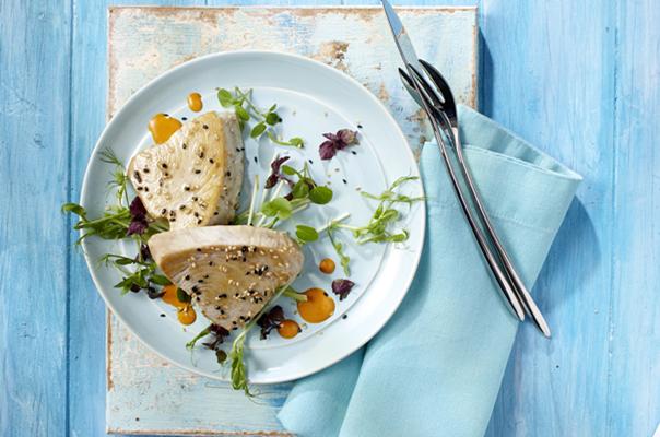 Thunfisch in Sesamkruste