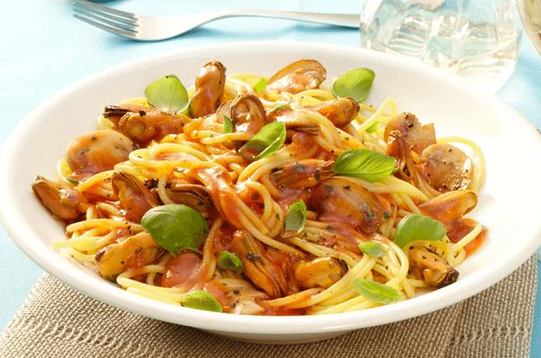 Spaghetti mit miesmuscheln costa rezepte - Miesmuscheln kochen ...